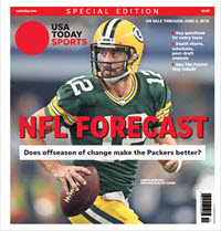 USA TODAY Sports  Special Edition - NFL Forecast  2018 - Packers Cover