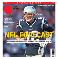 USA TODAY Sports  Special Edition - NFL Forecast  2018 - Patriots Cover