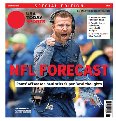 USA TODAY Sports  Special Edition - NFL Forecast  2018 - Rams Cover
