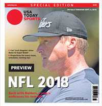 2018 NFL Preview Special Edition - Raiders Cover