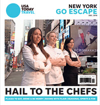 2018 USA TODAY New York - Go Escape