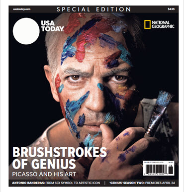 USA TODAY - National Geographic - Brushstrokes of Genius