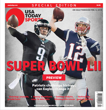 USA TODAY Sports 2018 Super Bowl LII Preview Special Edition