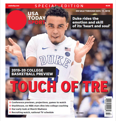 College Basketball Preview - 2019-20 Special Edition - Duke Cover MAIN