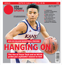 College Basketball Preview - 2019-20 Special Edition - Kansas Cover THUMBNAIL
