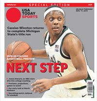 College Basketball Preview - 2019-20 Special Edition - Michigan State Cover THUMBNAIL