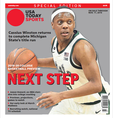 College Basketball Preview - 2019-20 Special Edition - Michigan State Cover MAIN