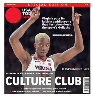 College Basketball Preview - 2019-20 Special Edition - Virginia Cover MAIN