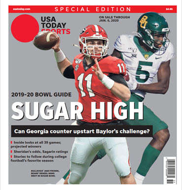 2019 College Bowl Guide Special Edition - Sugar Bowl Cover MAIN