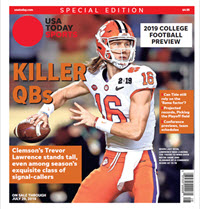 USA TODAY Sports Special Edition - 2019 College Football Preview - Clemson Cover THUMBNAIL