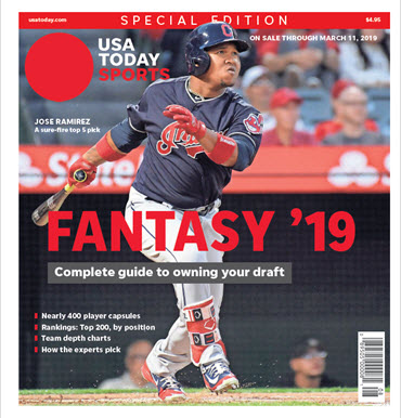 Fantasy Baseball 2019 Special Edition - Jose Ramirez Cover MAIN