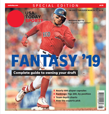 Fantasy Baseball 2019 Special Edition - Mookie Betts Cover MAIN