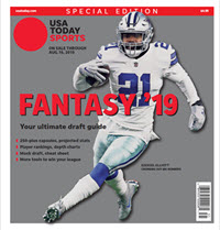 USA TODAY Sports Special Edition - 2019 Fantasy Football  -Cowboys Cover THUMBNAIL