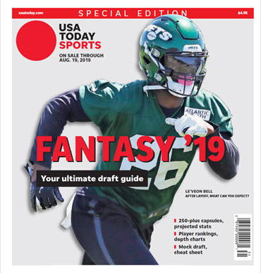 USA TODAY Sports Special Edition - 2019 Fantasy Football  -Jets Cover MAIN