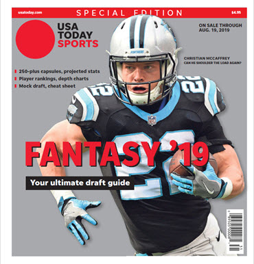 USA TODAY Sports Special Edition - 2019 Fantasy Football  - Panthers Cover MAIN