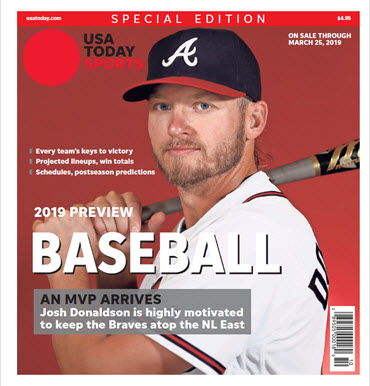 Baseball 2019 Preview Special Edition - Braves Cover MAIN