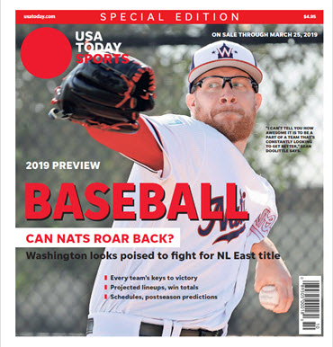 Baseball 2019 Preview Special Edition - Nationals Cover MAIN