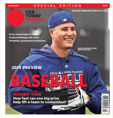Baseball 2019 Preview Special Edition - Padres Cover MAIN