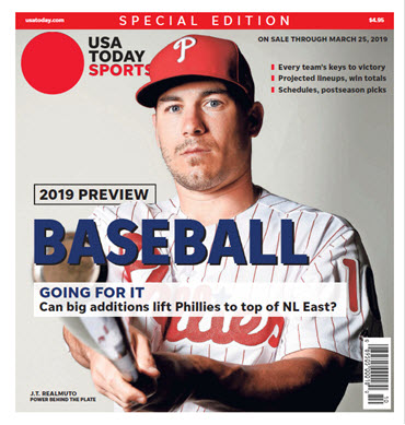Baseball 2019 Preview Special Edition - Phillies Cover MAIN
