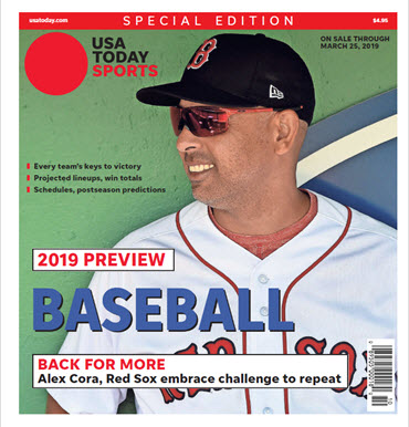 Baseball 2019 Preview Special Edition - Red Sox Cover MAIN