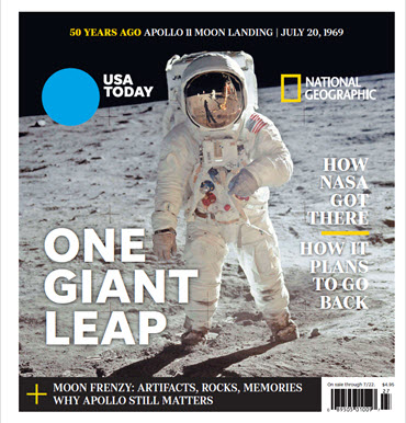 USA TODAY - National Geographic - One Giant Leap MAIN