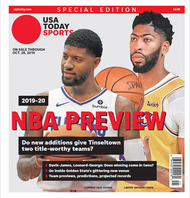 NBA Preview 2019-20 - Special Edition - Lakers and Clippers Cover MAIN