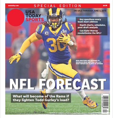 USA TODAY Sports Special Edition - NFL Forecast  2019 - Rams Cover MAIN