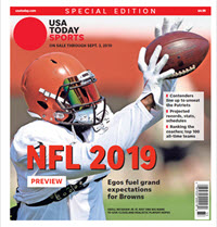 2019 NFL Preview Special Edition - Browns Cover THUMBNAIL