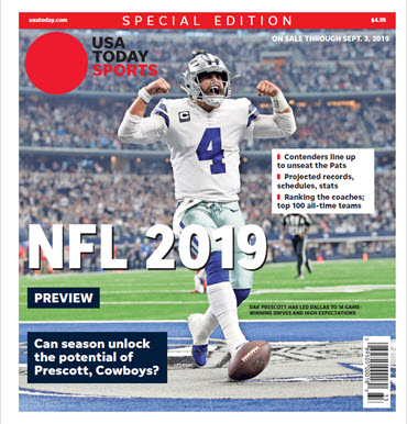 2019 NFL Preview Special Edition - Cowboys Cover MAIN