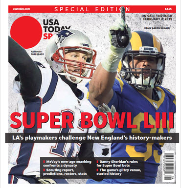 USA TODAY Sports 2019 Super Bowl LIII Preview Special Edition MAIN