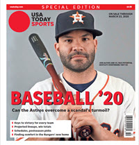 Baseball 2020 Preview Special Edition - Astros Cover THUMBNAIL