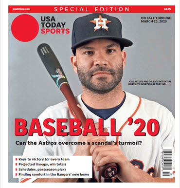Baseball 2020 Preview Special Edition - Astros Cover MAIN