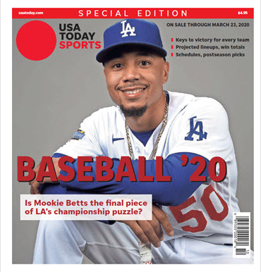 Baseball 2020 Preview Special Edition - Dodgers Cover MAIN