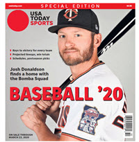 Baseball 2020 Preview Special Edition - Twins Cover THUMBNAIL