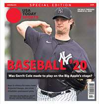 Baseball 2020 Preview Special Edition - Yankees Cover THUMBNAIL