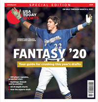 Fantasy Baseball 2020 Special Edition - Christian Yelich Cover THUMBNAIL