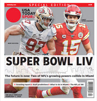 USA TODAY Sports 2020 Super Bowl LIV Preview Special Edition THUMBNAIL