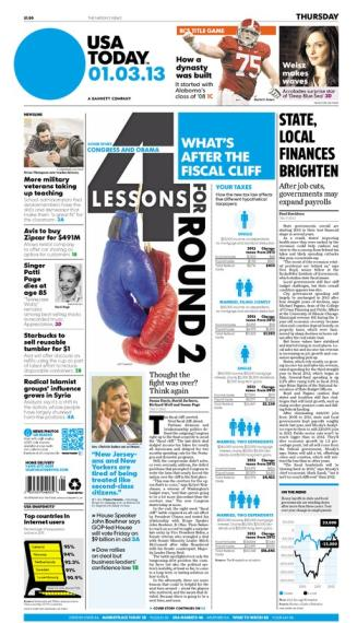 01/03/2013 Issue of USA TODAY