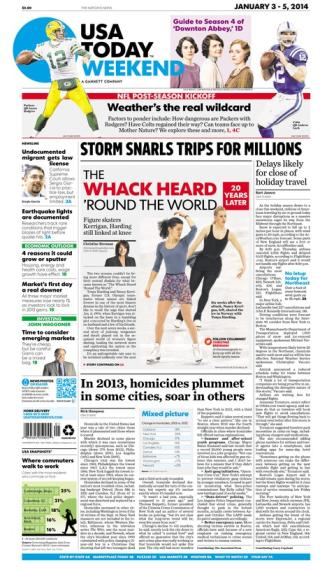 01/03/2014 Issue of USA TODAY