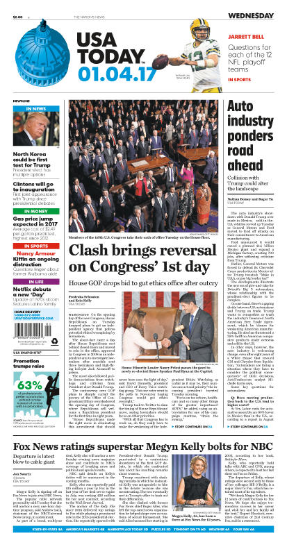 01/04/2017 Issue of USA TODAY