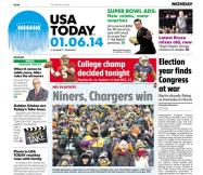01/06/2014 Issue of USA TODAY