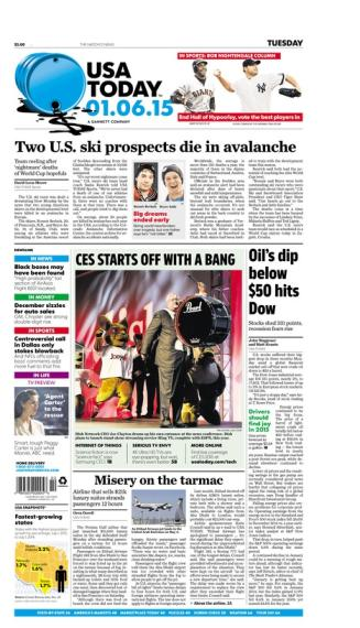 01/06/2015 Issue of USA TODAY