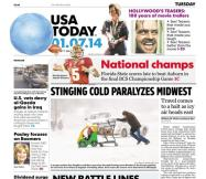 01/07/2014 Issue of USA TODAY