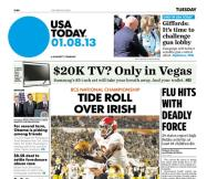 01/08/2013 Issue of USA TODAY