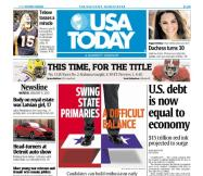 01/09/2012 Issue of USA TODAY