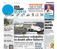 01/09/2013 Issue of USA TODAY