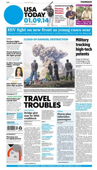 01/09/2014 Issue of USA TODAY