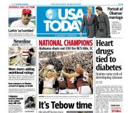01/10/2012 Issue of USA TODAY