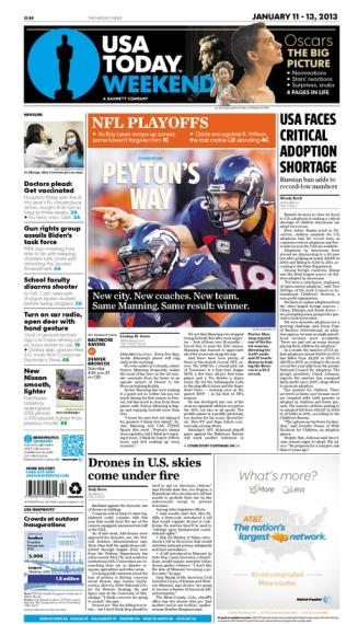 01/11/2013 Issue of USA TODAY