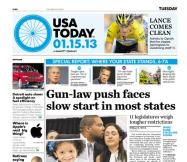 01/15/2013 Issue of USA TODAY